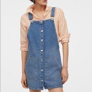 H&M denim overall jumper
